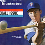 1963 Mlb Baseball Preview Issue Sports Illustrated Cover Art Print