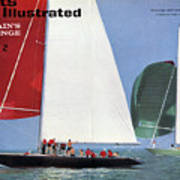 1964 Americas Cup Preview Sports Illustrated Cover Art Print
