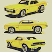 1969 Camaro Art Print