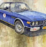 1972 Bmw 3.0 Csi Coupe  Art Print