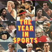 1981 Year In Sports Issue Sports Illustrated Cover Art Print
