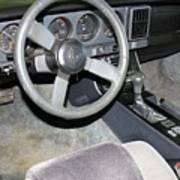 1986 Pontiac Trans Am Dashboard Art Print