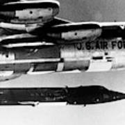 1x15 Rocket Plane Launched From The B52 Carrying It, 1962 Art Print