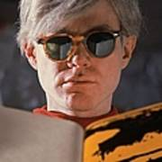 Andy Warhol In New York, United States Art Print
