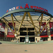 Angel Stadium Of Anaheim Art Print