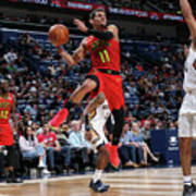 Atlanta Hawks V New Orleans Pelicans Art Print