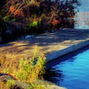 Autumn Colors In Kearney Lake Art Print