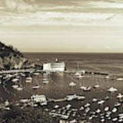 Avalon Harbor - Catalina Island, California Art Print