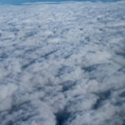 Beautiful Cloudscape High Up In The Sky. Art Print