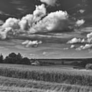 Beautiful Iowa Farm Scene Art Print