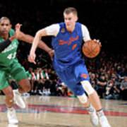 Boston Celtics V New York Knicks Art Print