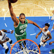 Boston Celtics V Orlando Magic 2 Art Print