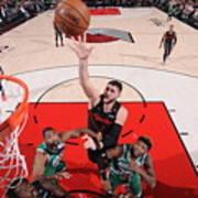 Boston Celtics V Portland Trail Blazers Art Print
