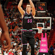 Brooklyn Nets V Miami Heat Art Print