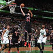 Chicago Bulls V Boston Celtics - Game Art Print