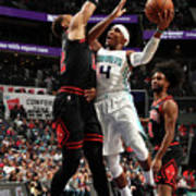 Chicago Bulls V Charlotte Hornets Art Print