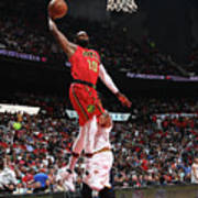 Cleveland Cavaliers V Atlanta Hawks Art Print