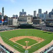 Cleveland Indians V Detroit Tigers Art Print