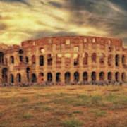 Colosseo, Rome Art Print