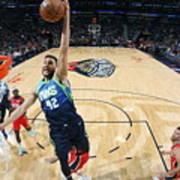 Dallas Mavericks V New Orleans Pelicans Art Print
