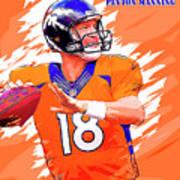 Denver Broncos.peyton Manning. Art Print