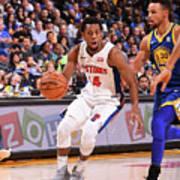 Detroit Pistons V Golden State Warriors Art Print
