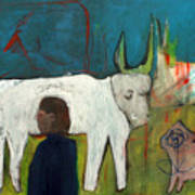 Farmers Field Art Print