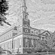 First Baptist Church Columbia Art Print