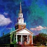 First Baptist Church Myrtle Beach S C Art Print