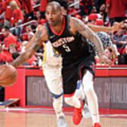 Golden State Warriors V Houston Rockets Art Print
