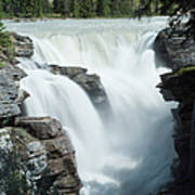 Icefields Parkway, Athabasca Falls Art Print