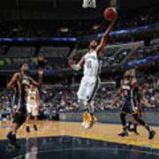 Indiana Pacers V Memphis Grizzlies Art Print