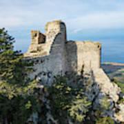Kantara Castle, Cyprus Art Print