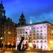 Liverpool's Historic Waterfront Art Print