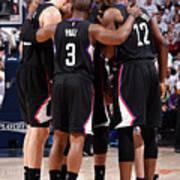 Los Angeles Clippers V Utah Jazz - Game Art Print