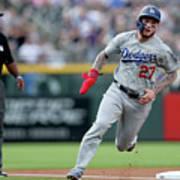 Los Angeles Dodgers V Colorado Rockies 2 Art Print