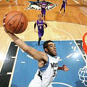 Los Angeles Lakers V Minnesota Art Print