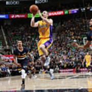 Los Angeles Lakers V Utah Jazz Art Print