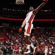 Memphis Grizzlies V Miami Heat Art Print