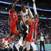 Memphis Grizzlies V New Orleans Pelicans Art Print