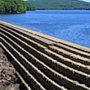 New Croton Dam At Croton On Hudson New York Art Print