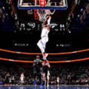 New York Knicks V Detroit Pistons Art Print