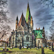 Nidaros Cathedral Art Print