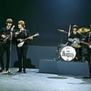 Photo Of Beatles Art Print