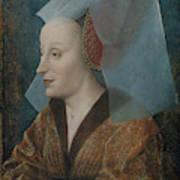 Portrait Of A Noblewoman Art Print