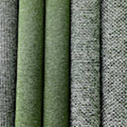Rolls Of New Carpet Art Print