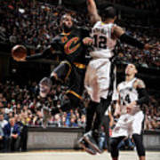 San Antonio Spurs V Cleveland Cavaliers 2 Art Print