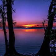 Spectacular Sunset Art Print