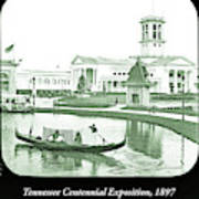 Tennessee Centennial Exposition, Auditorium Building, Lake And G Art Print