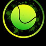 Tennis Player Tennis Racket I Love Tennis Ball Art Print